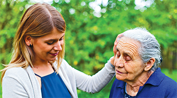 Bridging the distance for caregivers dealing with dementia