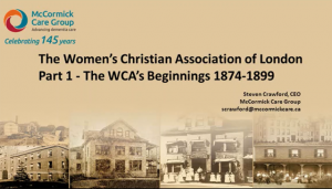 History of the WCA Part 1