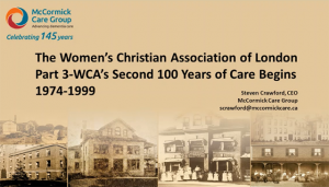 History of the WCA Part 3
