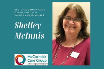 McCormick Care Group Employee Values Award 2021