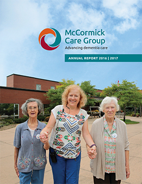 McCormick Care Group Annual Report 2015